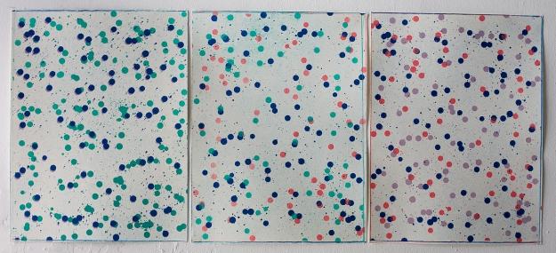 Lithography 30 x 40 + 30 x 40 + 30 x 40 cm 2010