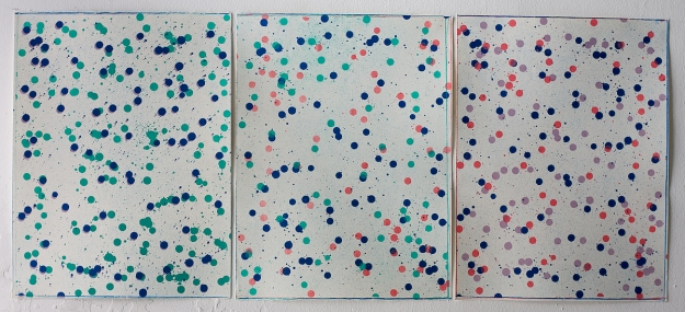 Lithography 30 x 40 + 30 x 40 + 30 x 40 cm 2010