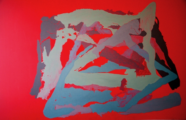 Acrílico sobre tabla 88 x 140 cm 2008