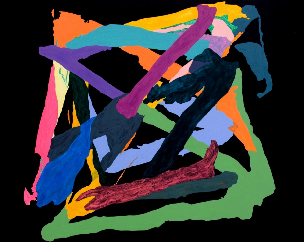Acrílico sobre tabla 100 x 120 cm 2012