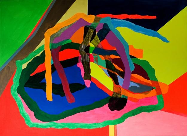 Acrílico sobre tabla 130 x 180 cm 2010