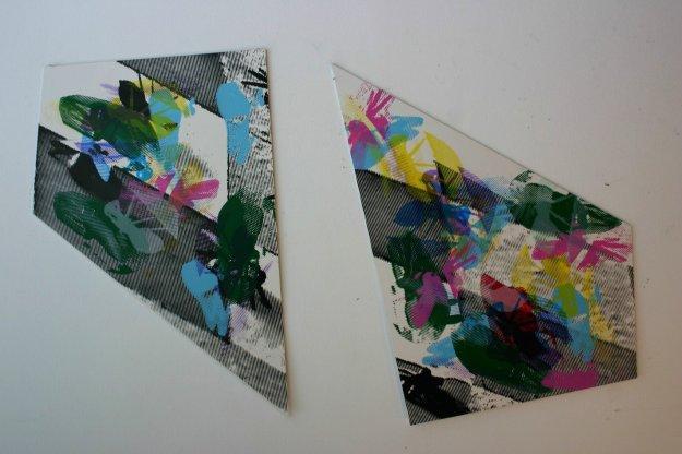 Screen Printing on PVC Variable measures 2013