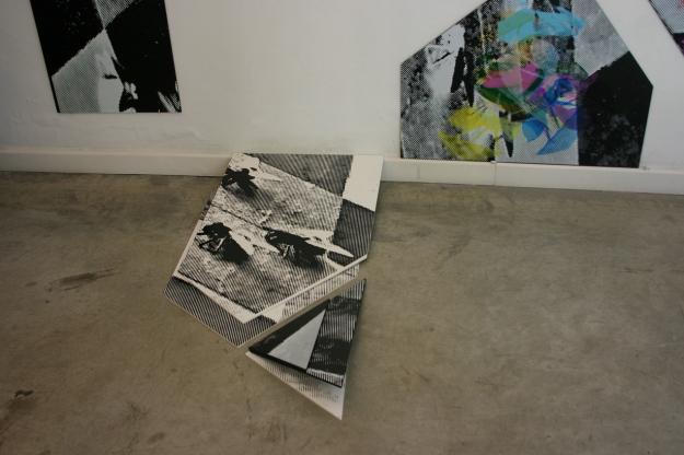 Screen Printing on PVCVariable measures Arteko Gallery, Donostia-San Sebastián 2013
