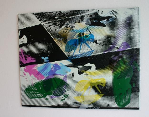 Screen Printing on PVC60 x 70 cm Arteko Gallery, Donostia-San Sebastián 2013
