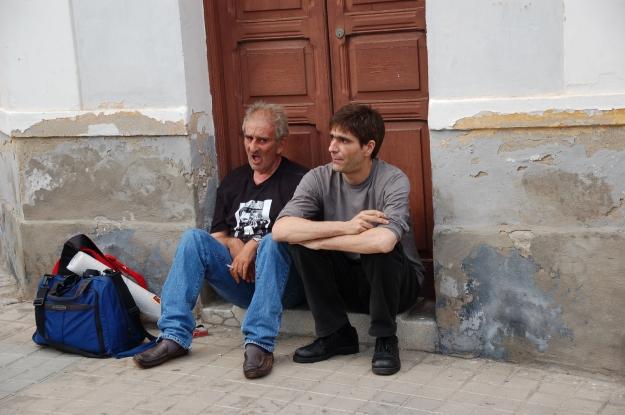 Leopoldo Maria Panero con Lucio, 2004