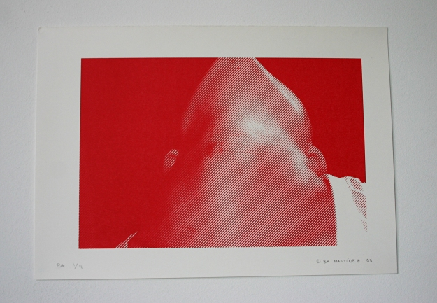 Serigraph 30 x 40 cm 2008