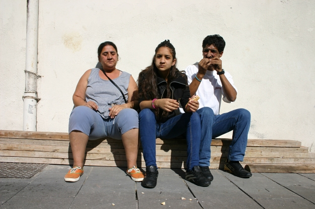 Noemí y sus padres 1-2013
