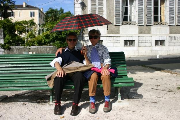 pareja en Pau- 2013
