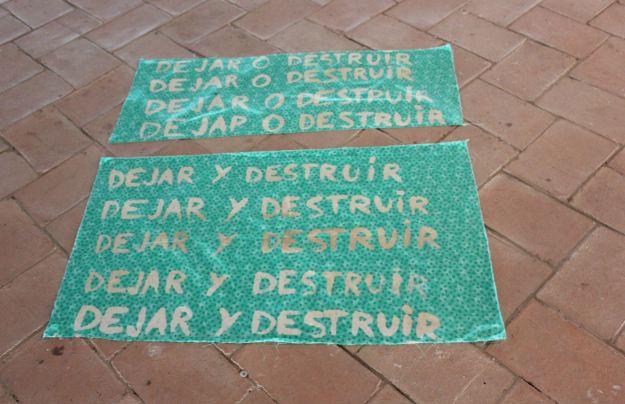 dEJAR O DESTRUIR