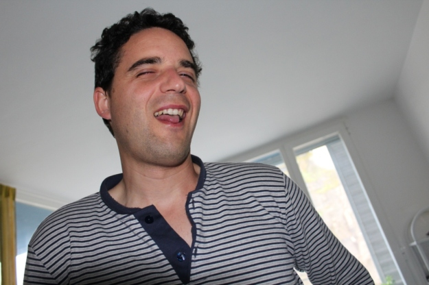 Iñaki haciendo el tonto 2015