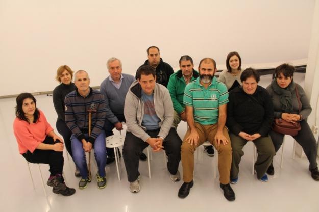 Grupo en la Sala Rekalde, 2015, Bilbao-copia