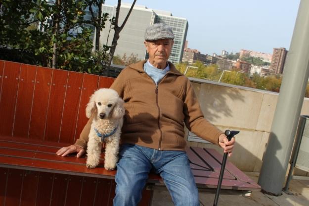 Marcelino y su perrito 2015, Bilbao copia