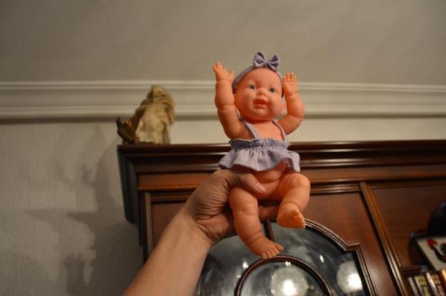 muñeca con lechuza