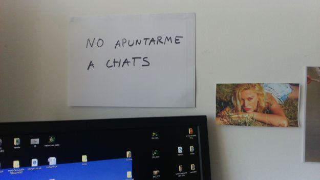 No apuntarme a chats